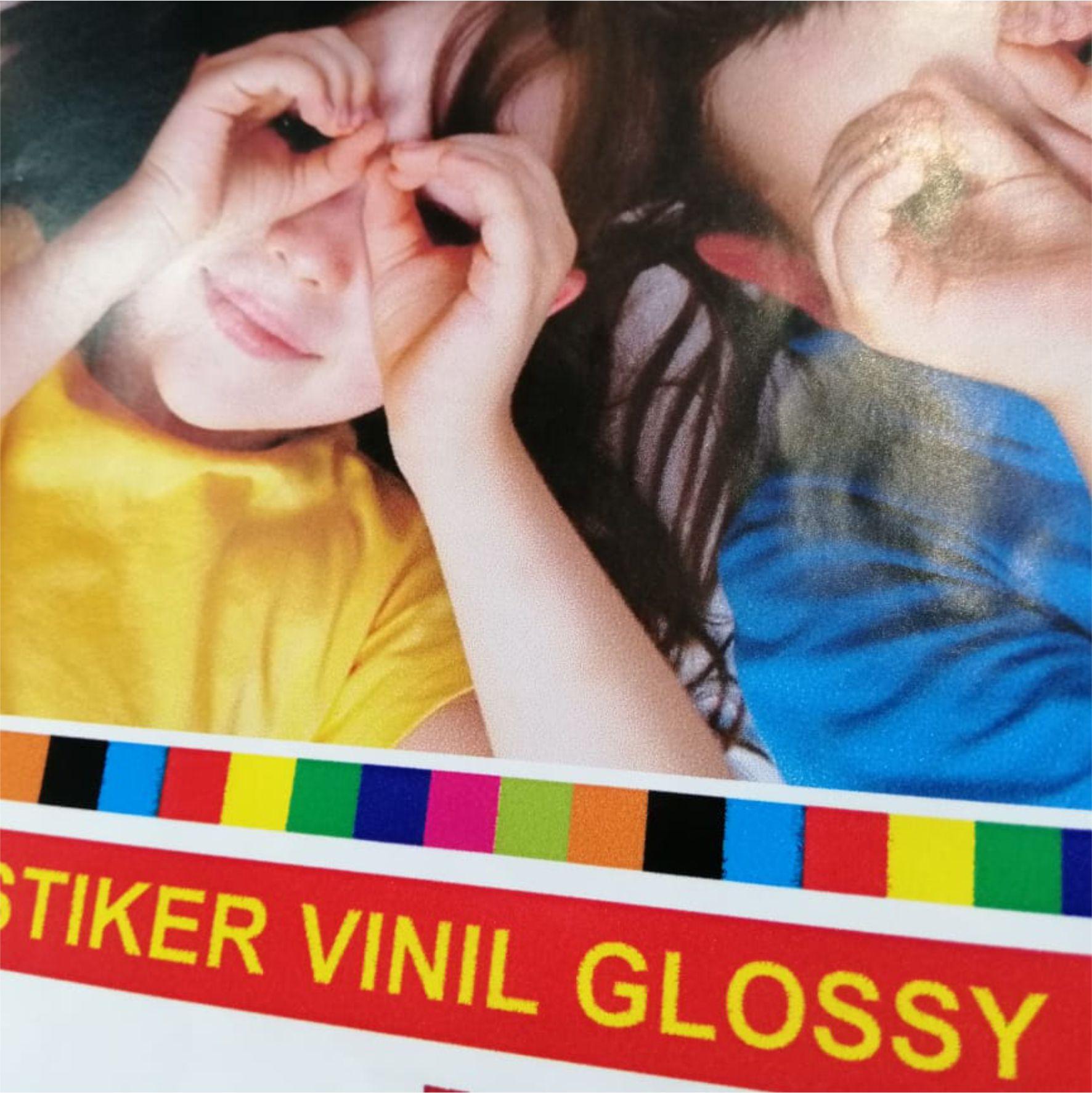Sticker Vinyl Glossy