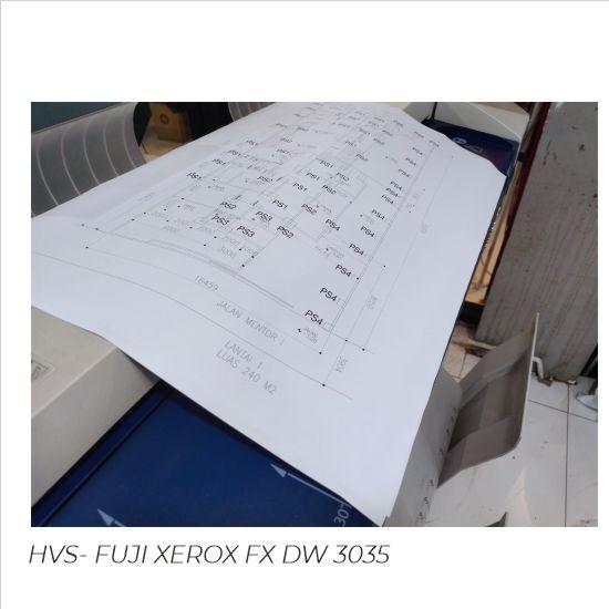 Print HVS A2 Hitam Putih