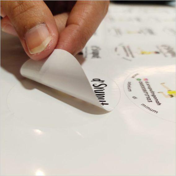 Sticker Vinyl  28x40 A3  Kiss Cut