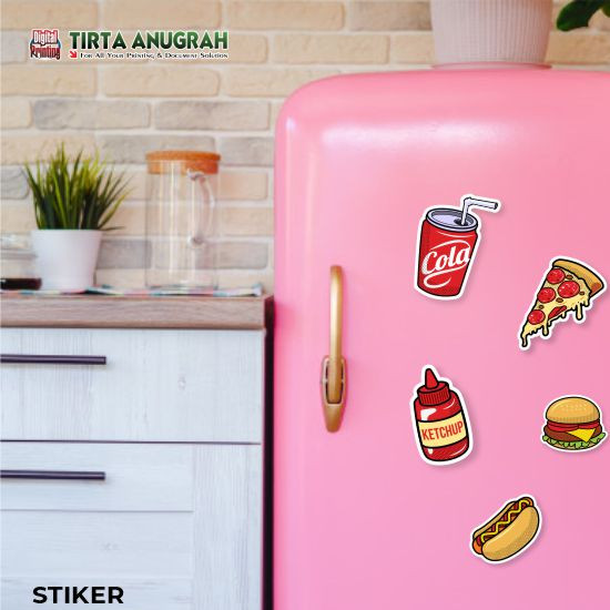 Sticker Magnet A4 (area 18x28)