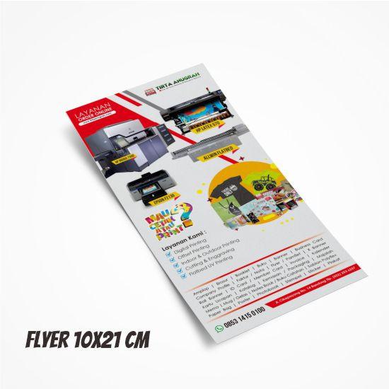 Flyer 10x21 cm - HVS Kilat