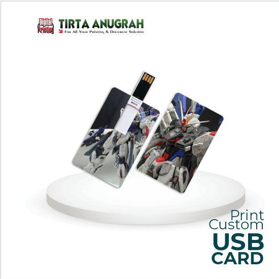 Print Custom USB CARD - Flashdisk 8 gb