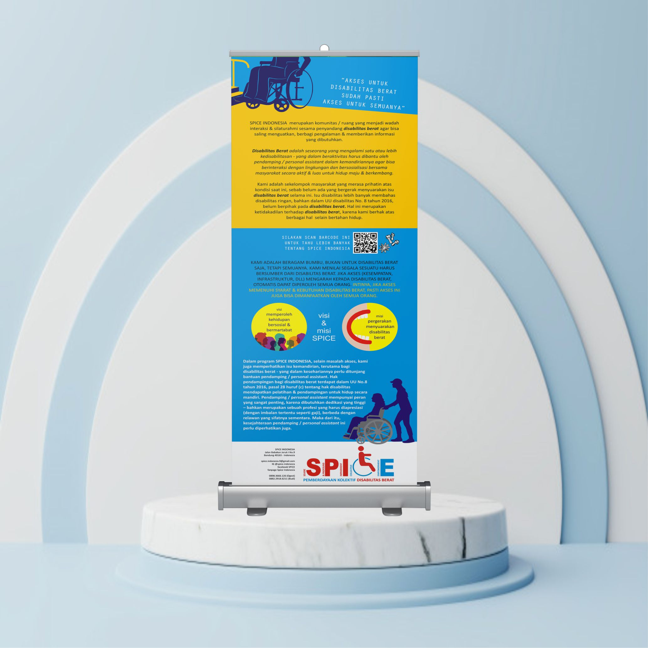Roll Up Banner 60 x 160